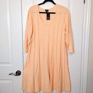 Torrid Sweater dress Peach color size 3x
